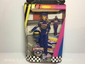 50th anniversary Barbie NASCAR Doll