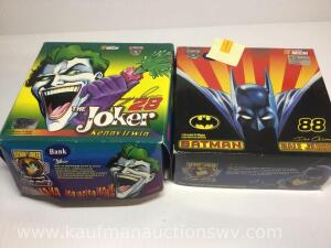1/16 scale the joker and Batman pit wagons