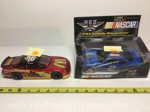 Racing champions number 94 and number 2 PEZ candy dispenser Cars