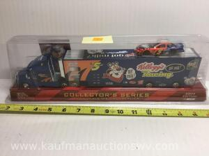 1/64 scale Terry LaMonte racing tractor trailer
