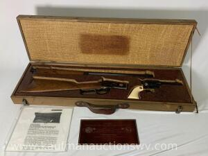 Charles Daly Limited Edition 1 of 250 NRA Commemorative 1892 45 Colt take down Ser# 00091NRA & 1893 45 Colt Revolver Ser# NRA00091 Rifle set