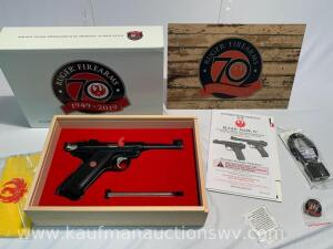 Ruger Mark IV 70th anniversary 22LR Serial# 70th-01298