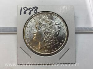 1888 uncirculated Morgan