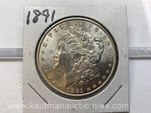 1891 uncirculated Morgan