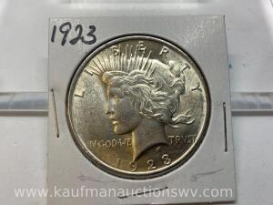 1923 uncirculated peace