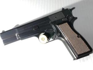 Browning hi power 9 mm Belgium serial number 245PN67937
