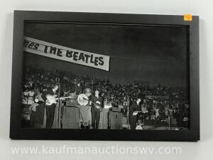 Picture of the Beatles in concert