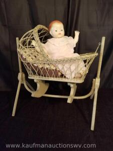Child's Vintage Cradle/Doll