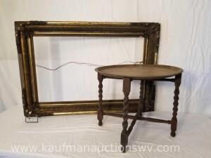 Vintage Picture Frame / Table