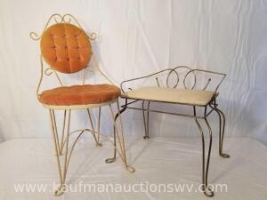 Vintage Bathroom Chairs