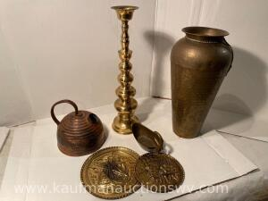 Group of Copper & Brass Items