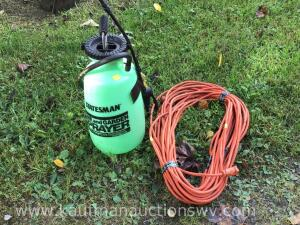 Sprayer and electric cord