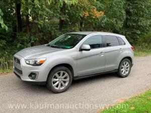 2015 Mitsubishi Outlander Sport 4WD Vin# 4A4AR3AW6FE055054 Title will be held back 2 to 3 weeks