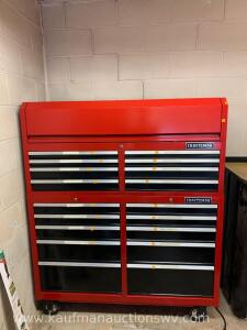 Craftsman two piece tool chest