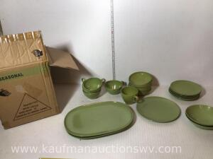 Melamine dishes
