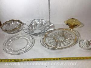 Deviled egg plate, fruit bowl, snack tray and more