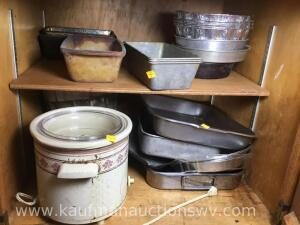Crockpot and bakeware