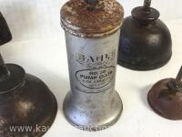 Eagle pump and oil cans - 2