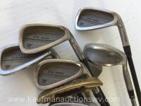 Dunlop irons and putter - 2