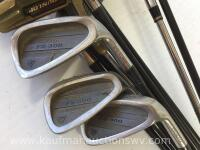 Dunlop irons and putter - 3