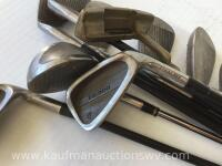 Dunlop irons and putter - 4