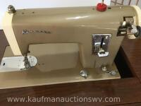 Kenmore electric sewing machine and stand - 2