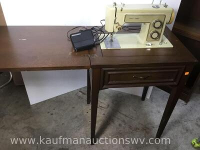 Electric Kenmore sewing machine and stand