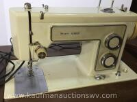 Electric Kenmore sewing machine and stand - 2