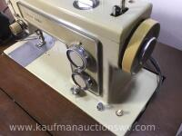 Electric Kenmore sewing machine and stand - 3