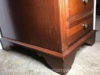 Three drawer side table - 5