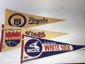 Royals, kings, Chicago White Sox pennants