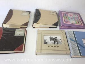 Six picture albums