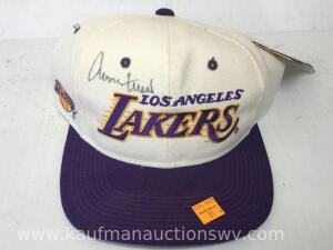 Lakers autographed hat