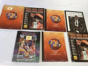 1997 final four record books and media guides