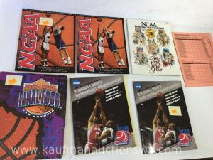 1998 and 2002 final four magazines