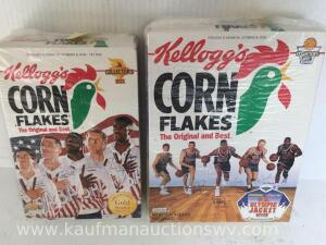 1992 Olympic cornflakes boxes
