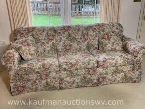 Craft master three person sofa