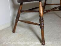 Antique Indianapolis chair and furniture co. bench - 4