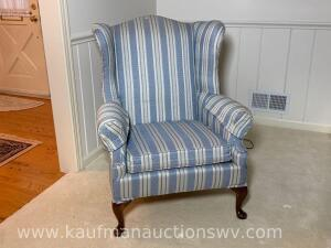 Pennsylvania House wing back upholstered chair