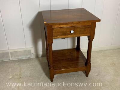 Antique one drawer stand