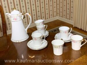 Hand painted Nippon tea set
