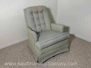 Pontiac upholstered rocking chair