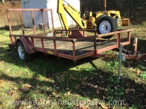 7' x 12' big Tex single axle trailer