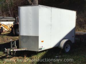 Horton 2007 10' x 5' enclosed trailer. HAVE TITLE