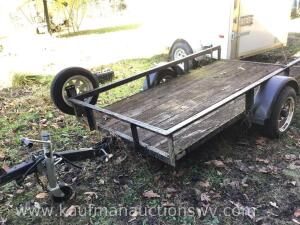"8' x 50"" single axle trailer"