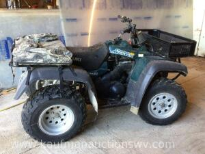 2000 Suzuki quad master 500 4 x 4 four wheeler. HAVE TITLE