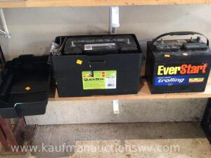 950 CCA battery and everstart deep cycle battery