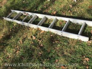 Aluminum 16' extension ladder