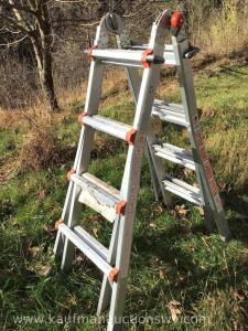 Little giant 15' adjustable ladder