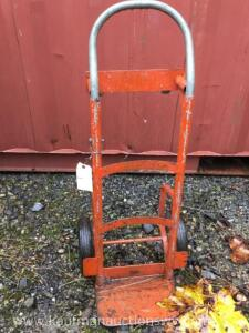 Four wheel hand cart